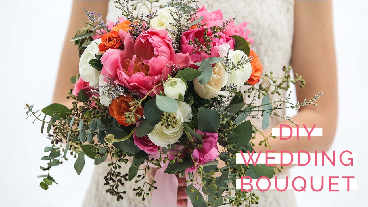 How To Make Your Own Clic And Wedding Bouquet