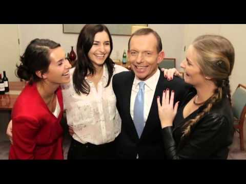 Meet Tony Abbott's Wife and Daughters