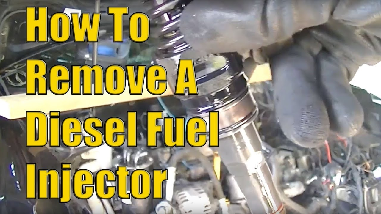 How to Remove VW 20 TDI Diesel Fuel Injectors The Easy Way  YouTube