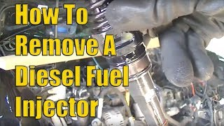 How to Remove VW 2.0 TDI Diesel Fuel Injectors... The Easy Way