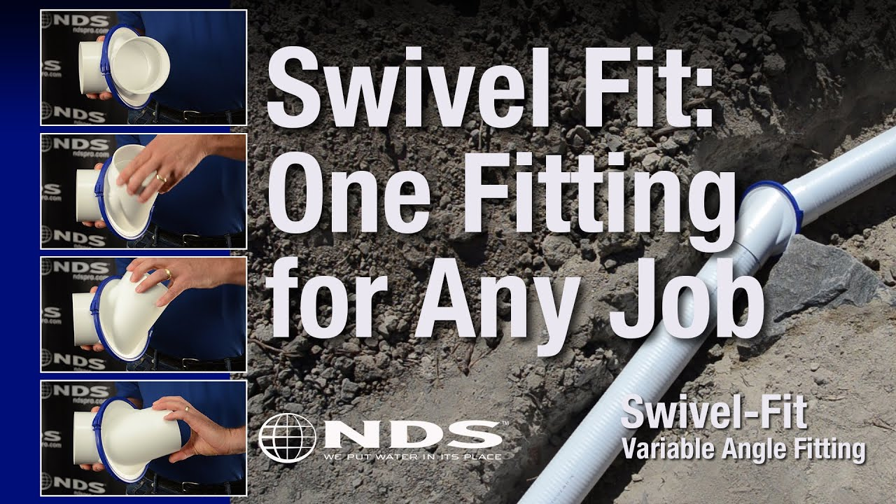 Swivel fit pipe fitting for your drainage system & Swivel fit pipe fitting for your drainage system - YouTube