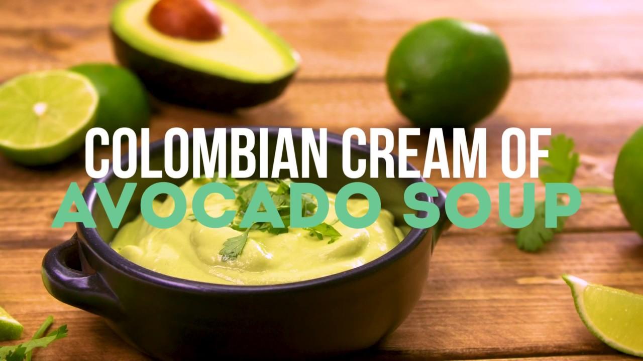 Columbian Cream of Avocado Soup