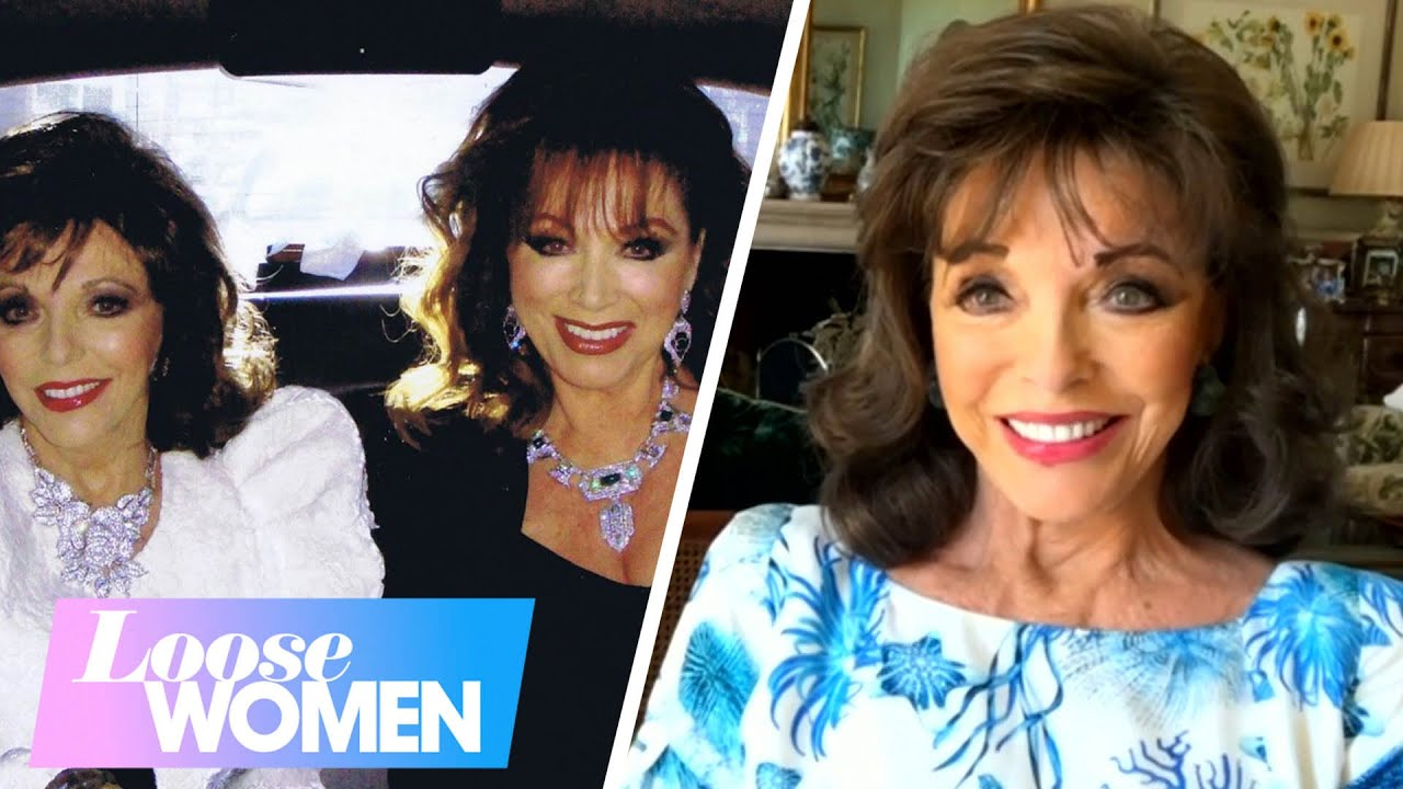 Dame Joan Collins Pays An Emotional Tribute To Her Sister Jackie | Loose Women