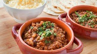 Tailgate Easy Three Bean Chili Recipe