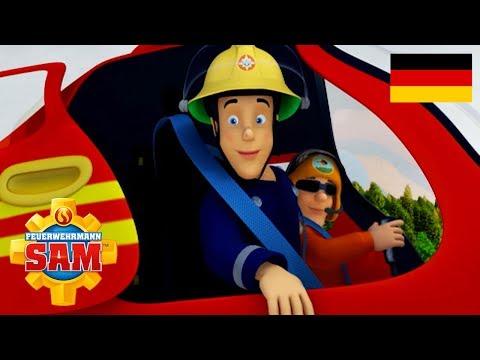 Feuerwehrmann Sam Deutsch Neue Folgen | Feuerwehrmann Elvis! -  1 Stunde | Cartoon für Kinder