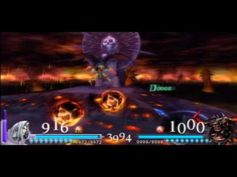 English Dissidia Final Fantasy - Sephiroth vs Chaos