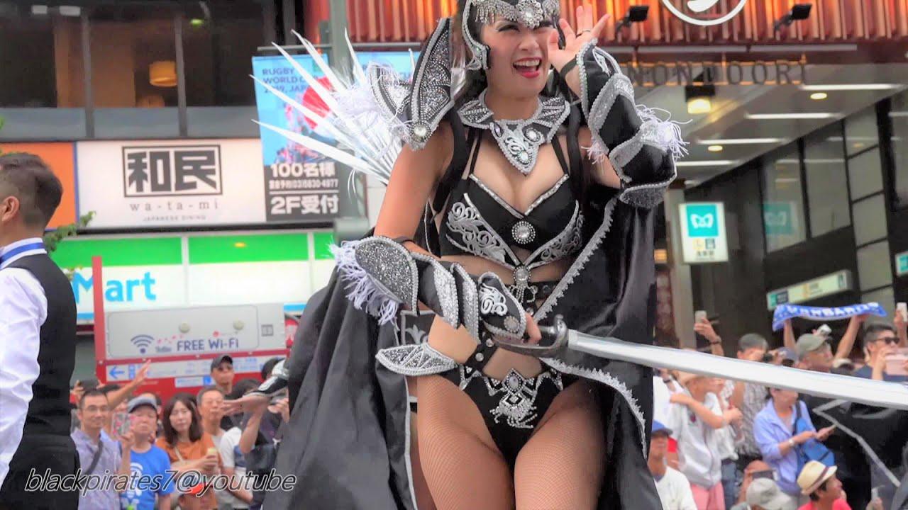 東京祭り!浅草サンバ2019 SAMBA CARNIVAL (サンバカーニバル) PARADE ASKS-TOKYO/JAPAN