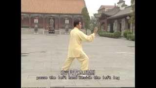 Chen Style Tai Chi Old frame Routine one 2/4(Eng sub)-Lão giá Lộ thứ nhất