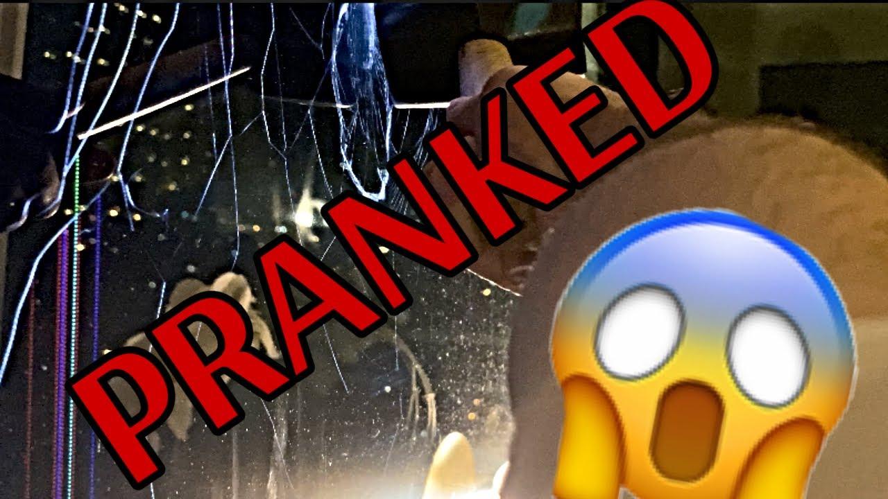 Adult Prank Alert! | Epic Shattered TV Prank On My Super Cute Girlfriend! | Broken Into Pieces Puff!