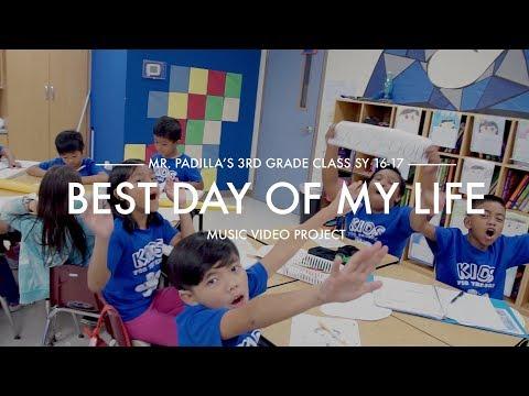 "3rd grade: Liguan Elementary School ""Best Day of my Life"" Music Video"