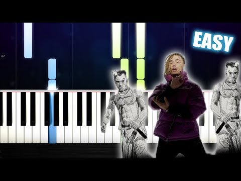 "XXXTENTACION & Lil Pump ft. Maluma & Swae Lee - ""Arms Around You"" - EASY Piano Tutorial by PlutaX"