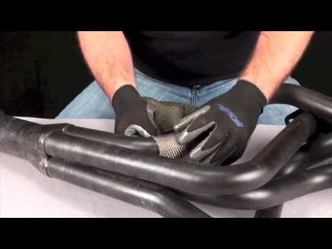 Exhaust Wrap Tip: How to measure exhaust wrap length - YouTube