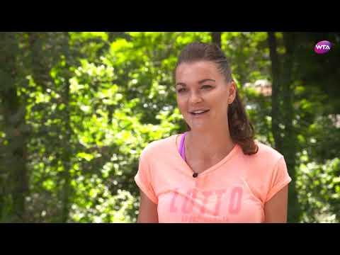 Agnieszka Radwanska | 2017 Connecticut Open Pre-Tournament Interview