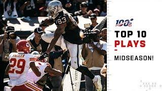 Raiders Top 10 Plays at Midseason!   2019 NFL Highlights