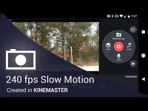 Slow Motion Video in the Kinemaster Mobile Video Editing App