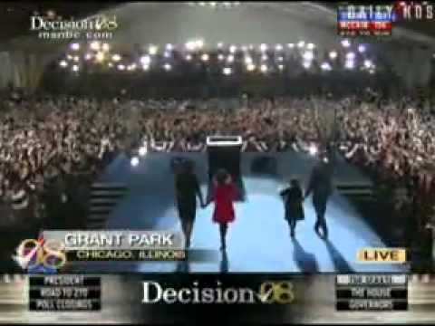 Obama Wins Election 2008 ElectionWallDotOrg.flv