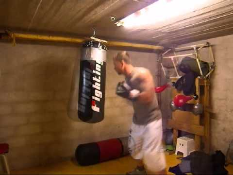 Low Ceiling Heavy Bag Mount The Test Youtube