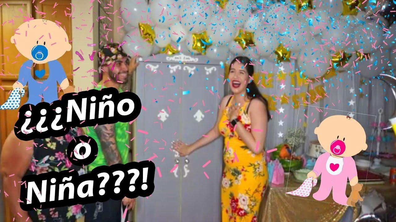 Fiesta Revelacion Sexo Bebe Niño O Niña Genderreveal Gladys