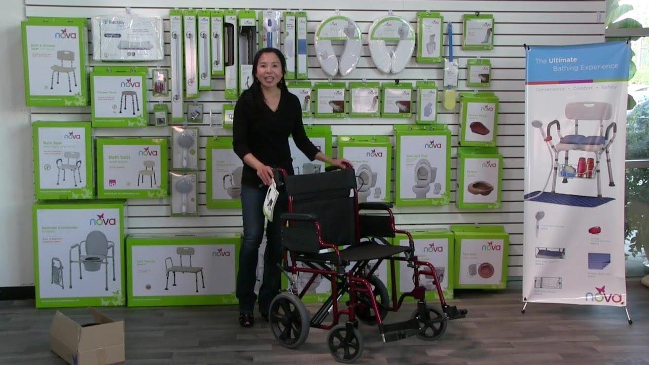 NOVA Lightweight Wheelchair