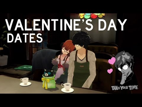 Persona 5 - All Valentine's Day Dates (ENGLISH)