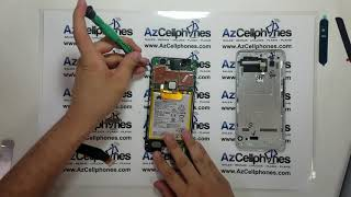 Google Nexus 6P Motherboard And Battery Removal