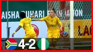 NIGERIA VS SOUTH AFRICA2-4-GOALSampHIGHLIGHTS-AISHA BUHARI CUP