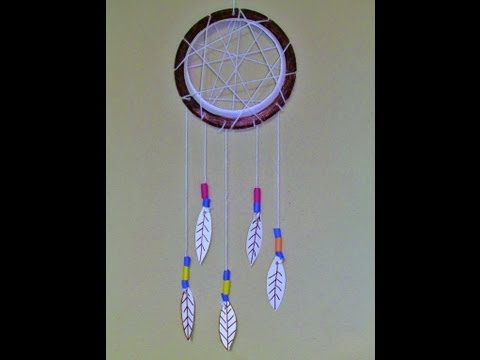 How to make a Dreamcatcher with Paper Plate Easy & Fun!