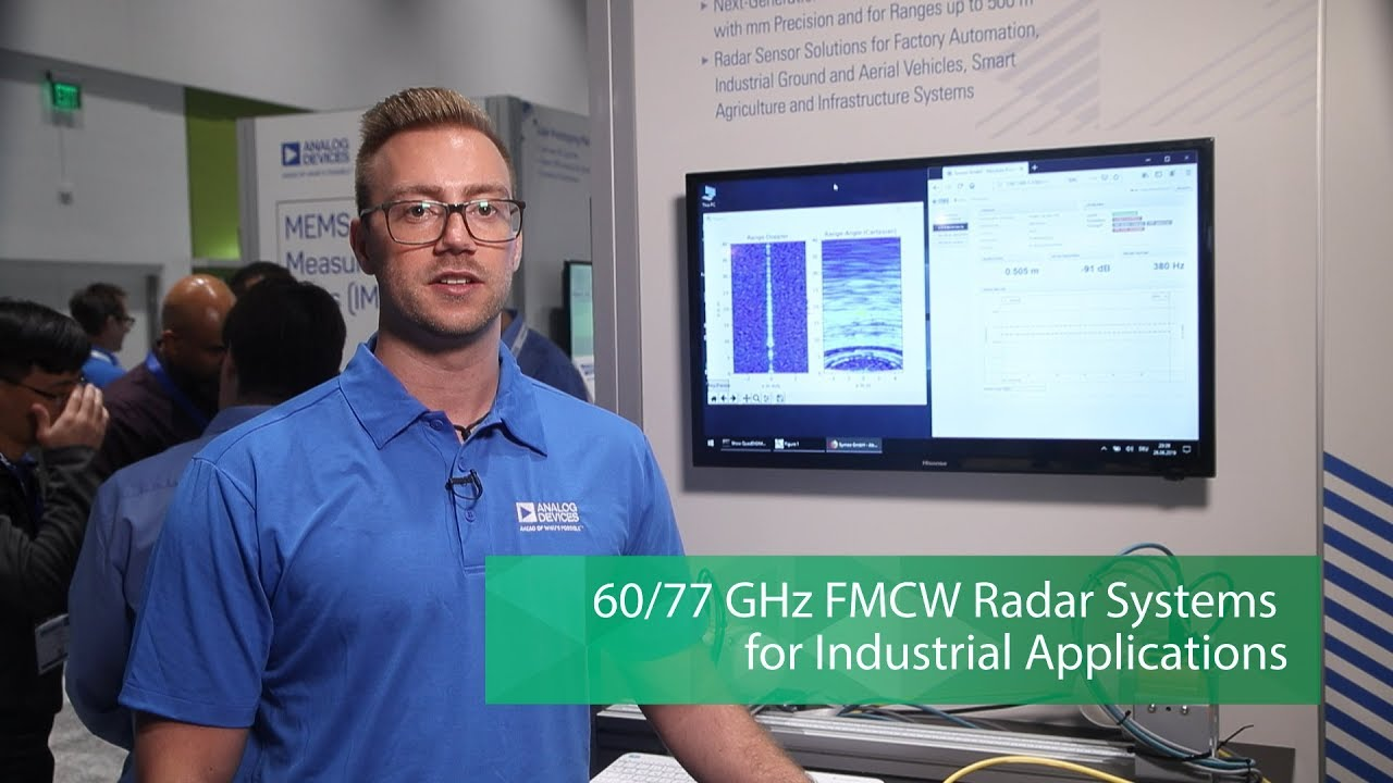 Analog Devices 60/77 GHz FMCW Radar Systems for Industrial Applications