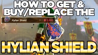 How To GET / BUY The Hylian Shield in Breath of The Wild