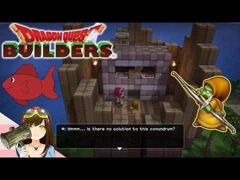 Dragon Quest Builders - Bodkin Hidden Quests & purification pool! Ep40