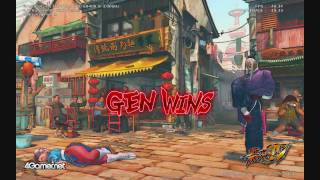 HD4850 Gameplay - Street Fighter IV (PC) Benchmark