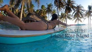 インドネシアラストフロンティア、ロテ島のTランドリゾートポイント。 I...