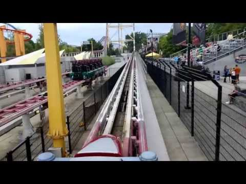 Top Thrill Dragster On-Ride (Front & Back Row) - Cedar Point (HD)