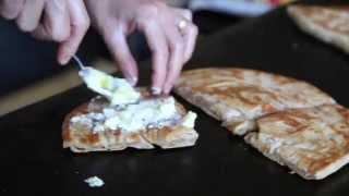 Special Saj Manakish From Hasbaya: Potato And Olive Oil Bread