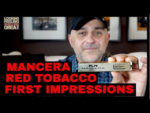 Mancera Red Tobacco First Impressions | Fragrance Review