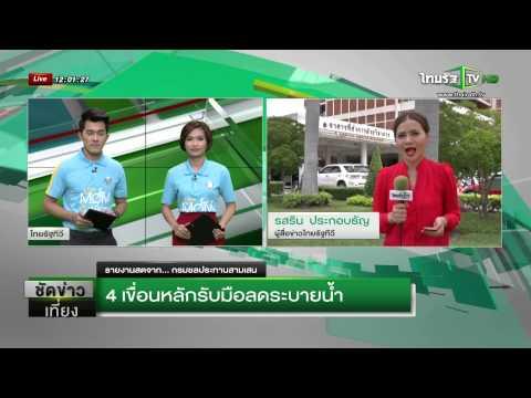 4 เขื่อนหลักรับมือลดระบายน้ำ  | 15-07-58 | ชัดข่าวเที่ยง | ThairathTV