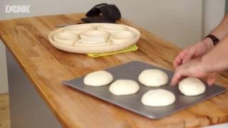 Rundum knusprige Brötchen backen mit dem Brötchenbäcker - DENK-Keramik