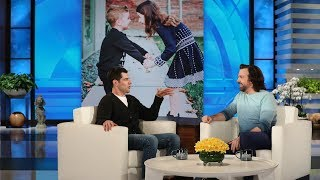 Jason Sudeikis and Max Greenfield Share Parenting Tips