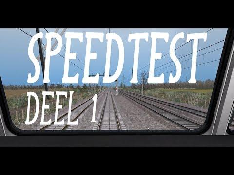 Train Simulator  Speed Test Deel 1 NL