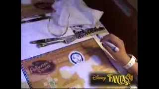 Disney Fantasy Drawing the characters on Animator Palate
