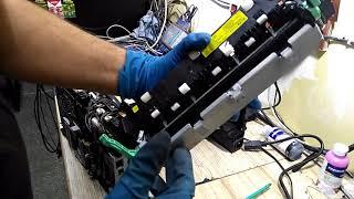 Інструкція як розібрати Xerox Phaser 3250 (Чистка грубки)