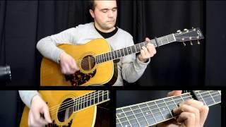 D.A.M.A às vezes, a veces, Lição de Guitarra, Violão, Tutorial, Partitura, Tablatura, Cifra