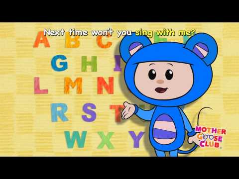 Alphabet Song ABC with Eep the Mouse   Mother Goose Club Nursery Rhymes