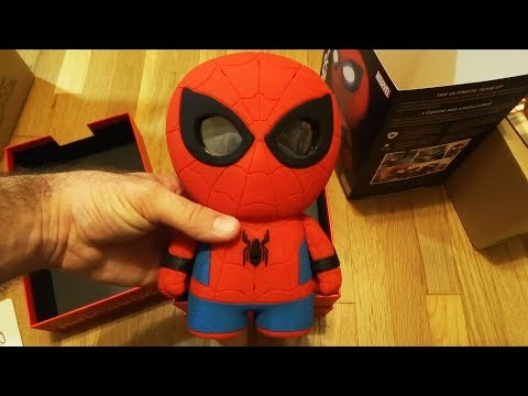 Sphero Interactive Spider-Man from Marvel Comics UNBOXING / REVIEW