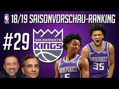 NBA 2018/19 Saisonvorschau-Ranking: #29 - SACRAMENTO KINGS