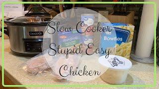 STUPID EASY CHICKEN | VLOGTOBER DAY 8