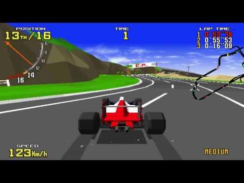 Virtua Racing ~1992 Sega Model 1 vr