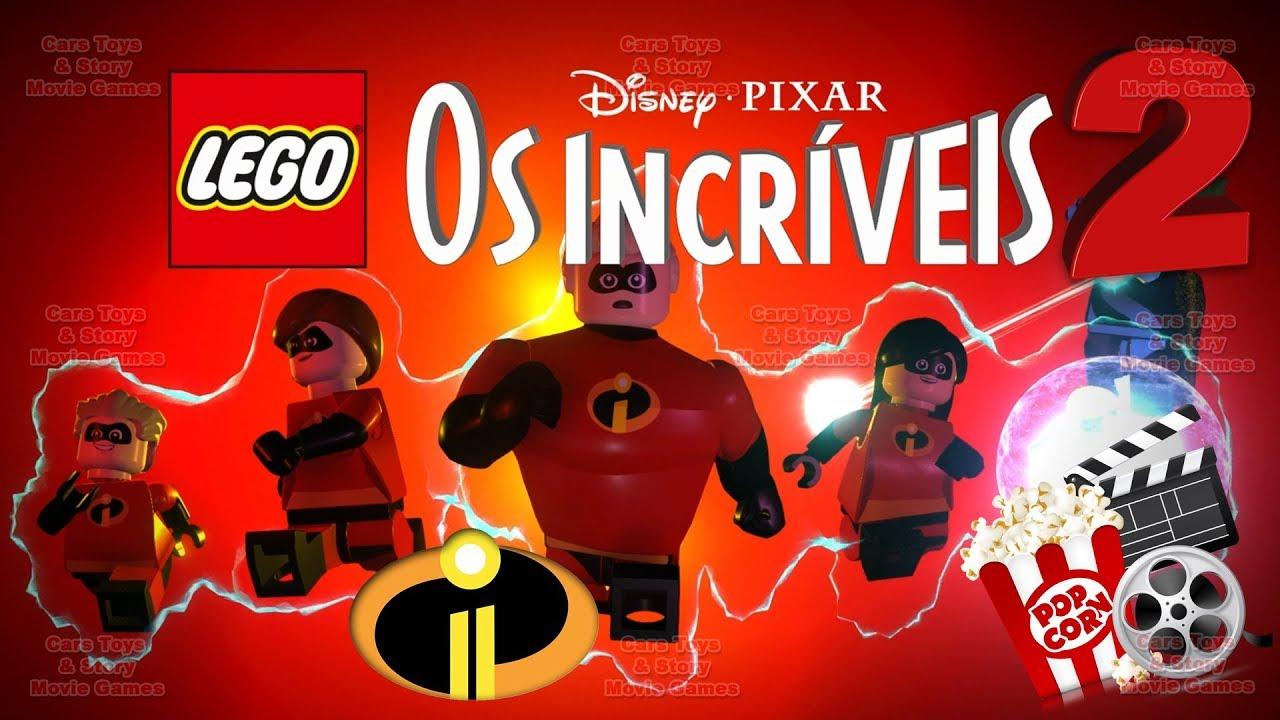 Lego Os Incriveis 2 Portugues Dublado Filme Completo Do Jogo Brasileiro Disney Pixar Filmes Jogo Youtube