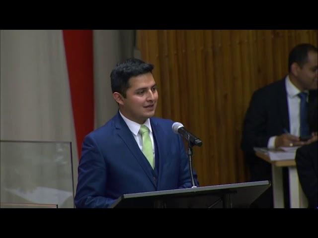 Cumbre de las Naciones Unidas sobre el Cambio Climático (UNSCC), Reunión Plenaria de NYMUNLAC 2019.