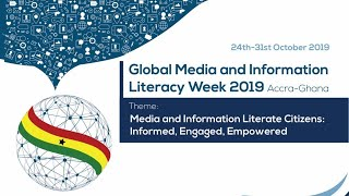 Launch of Media & information Literacy Week in Ghana by Penplusbytes